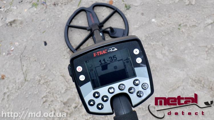 Металлоискатель, металлодетектор minelab e-trac.