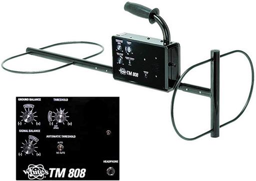 Whites TM 808 - глубинный